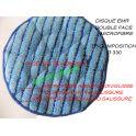 Disque MICROFIBRE EMR Double Face TRICOMPOSTION Ø 330 mm