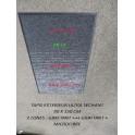 TAPIS ENTREE PRO 3 ZONES GRATTE,NETTOIE,ESSUIE 90 X 150 CM
